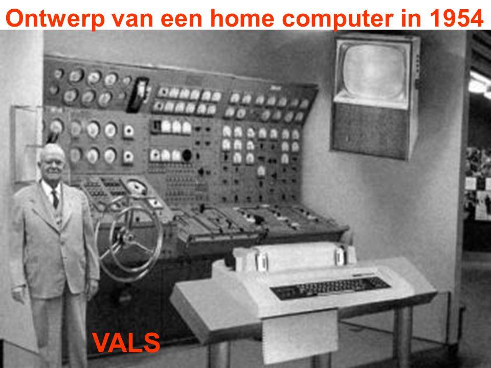 Ontwerp van een home computer in 1954