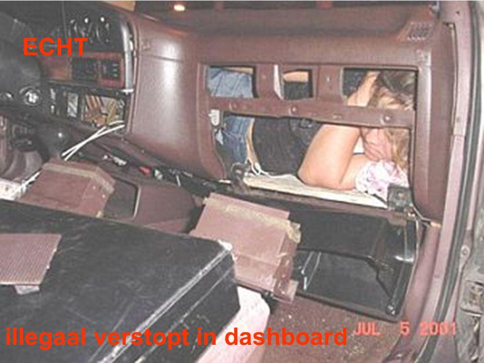 ECHT illegaal verstopt in dashboard