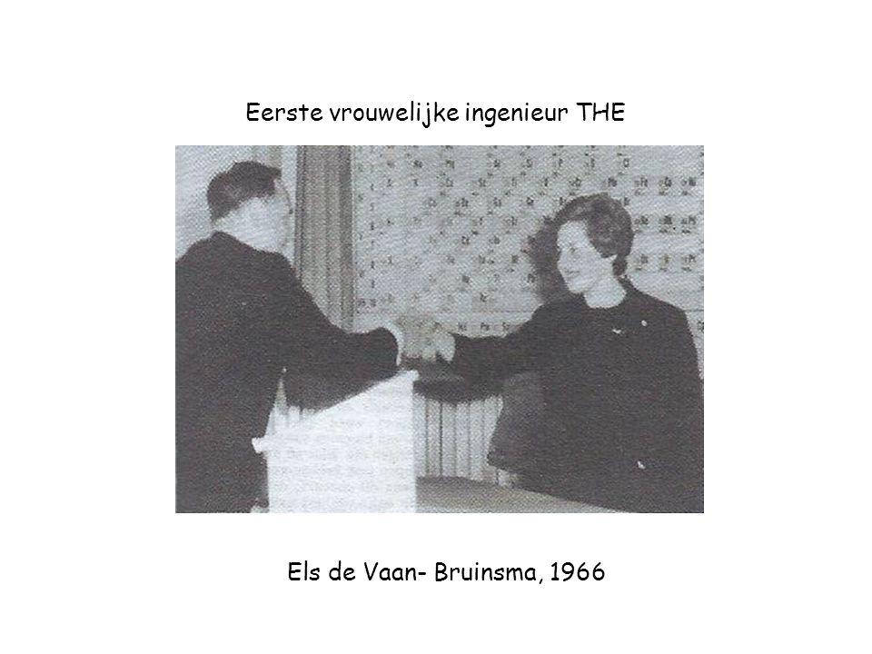 Eerste vrouwelijke ingenieur THE