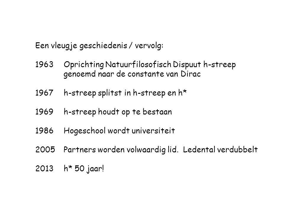 Een vleugje geschiedenis / vervolg: