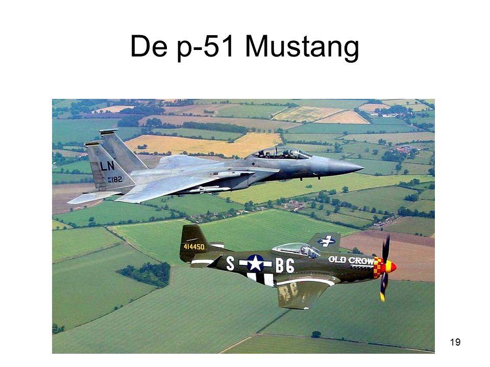 De p-51 Mustang