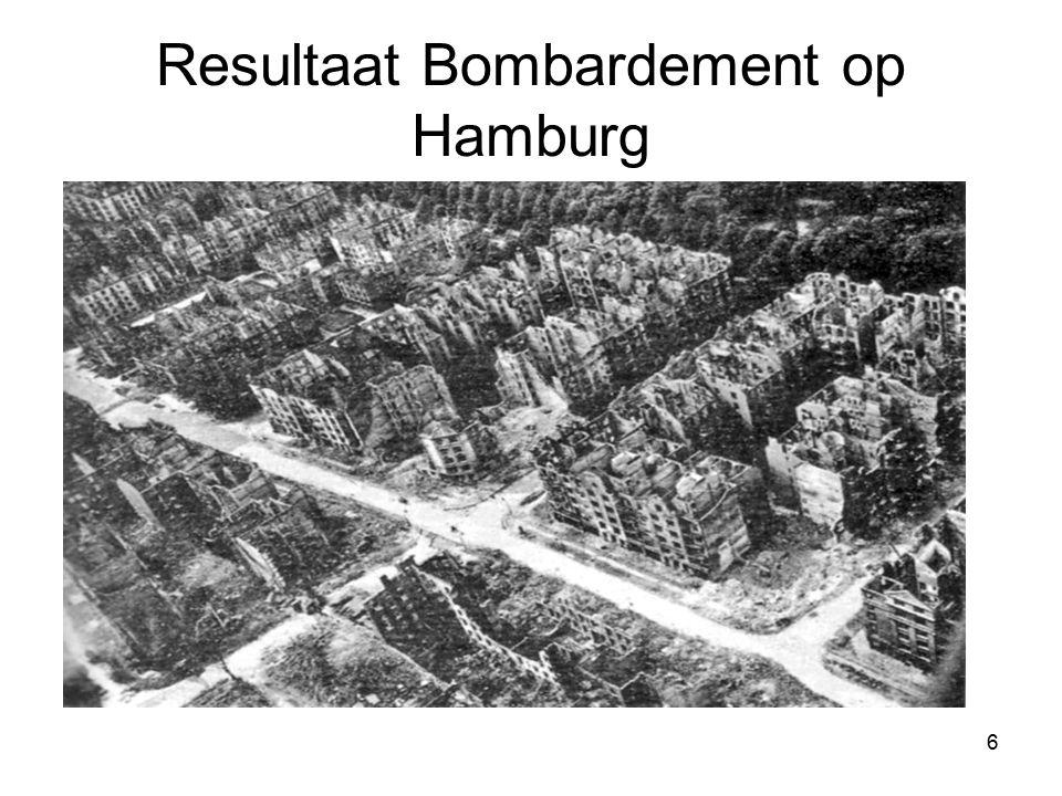 Resultaat Bombardement op Hamburg