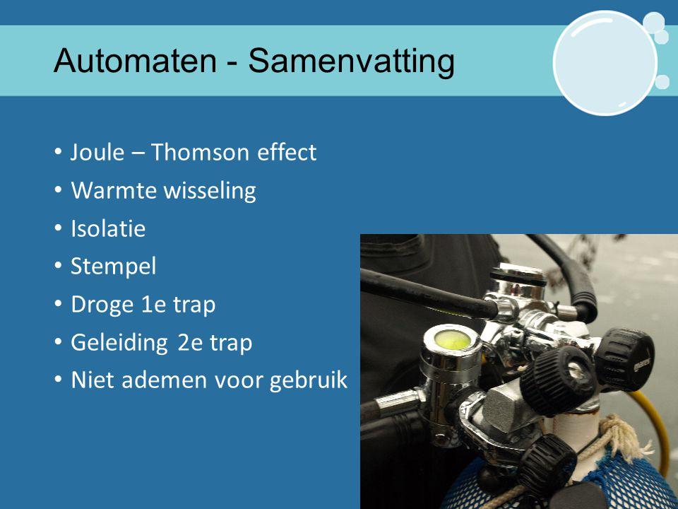 Automaten - Samenvatting