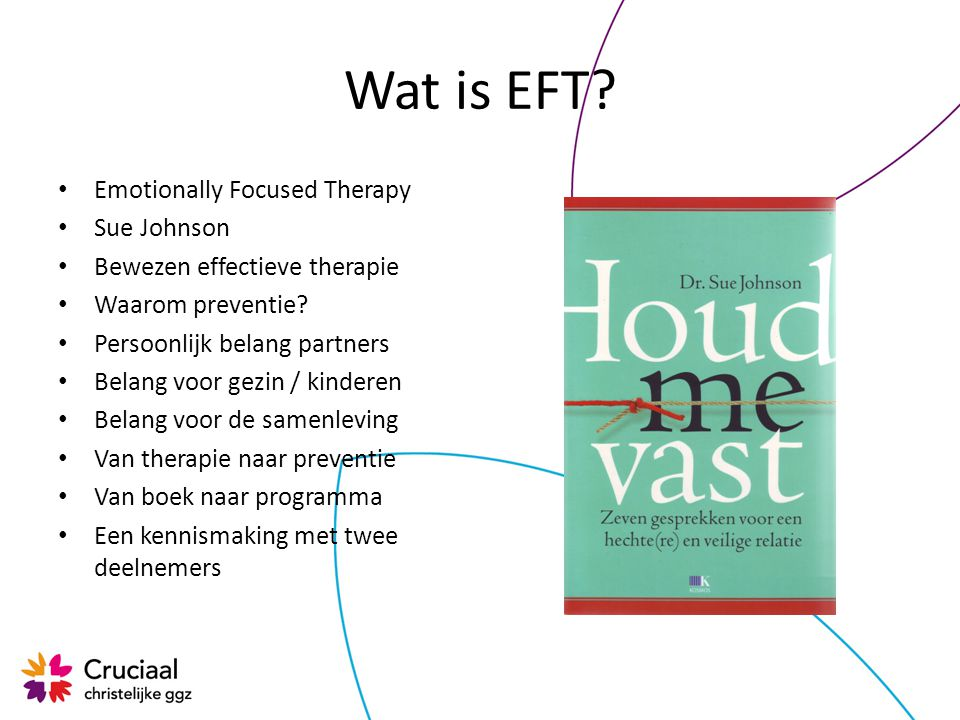 Wat is EFT Emotionally Focused Therapy Sue Johnson