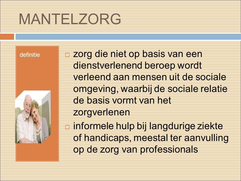 MANTELZORG definitie.