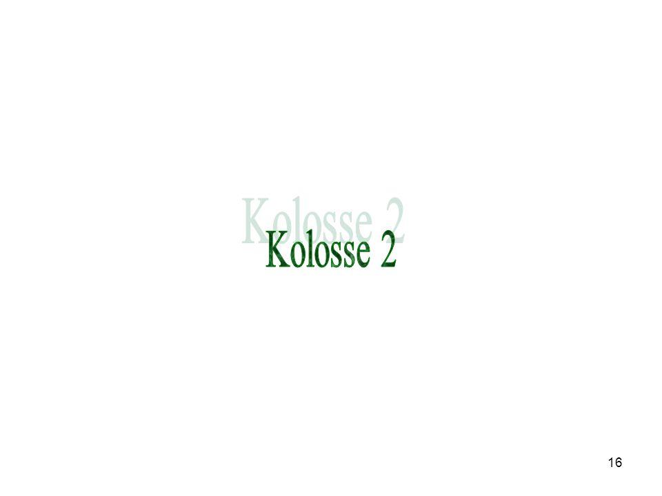 Kolosse 2