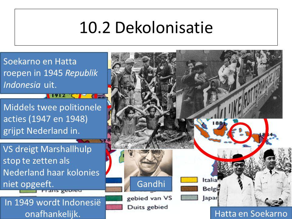 In 1949 wordt Indonesië onafhankelijk.