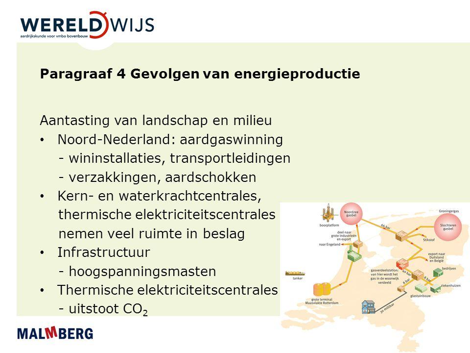 Paragraaf 4 Gevolgen van energieproductie