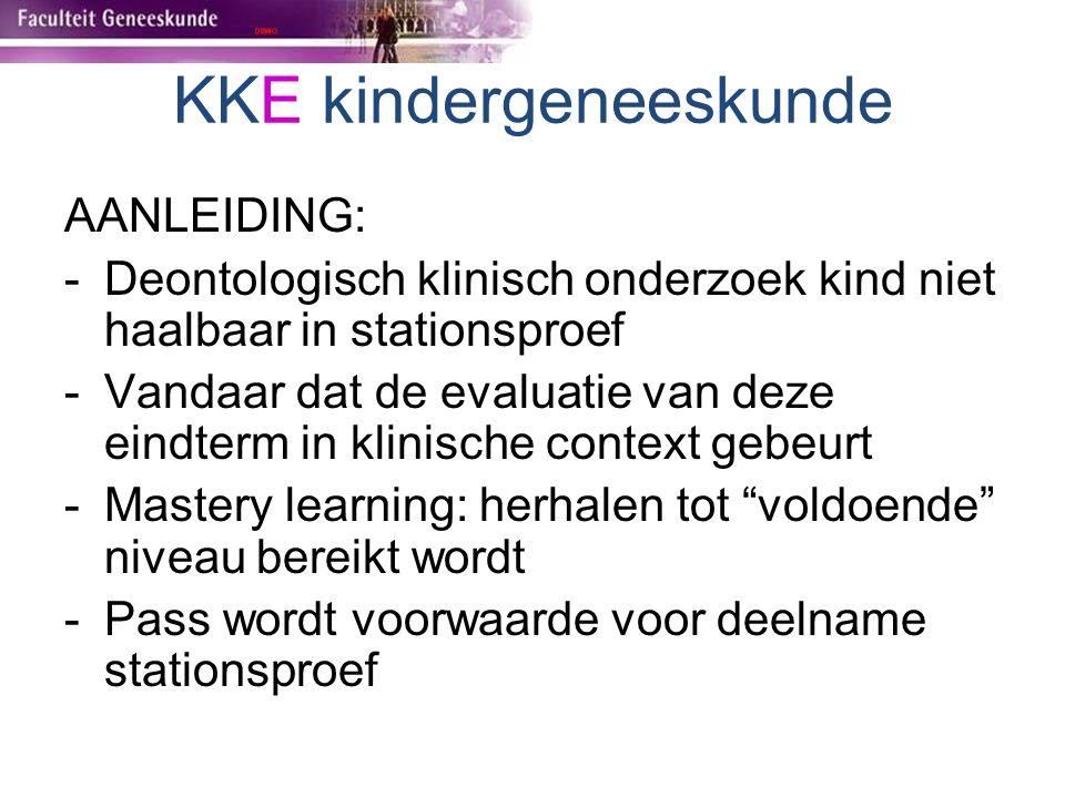 KKE kindergeneeskunde