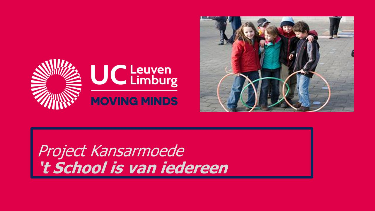 Project Kansarmoede 't School is van iedereen