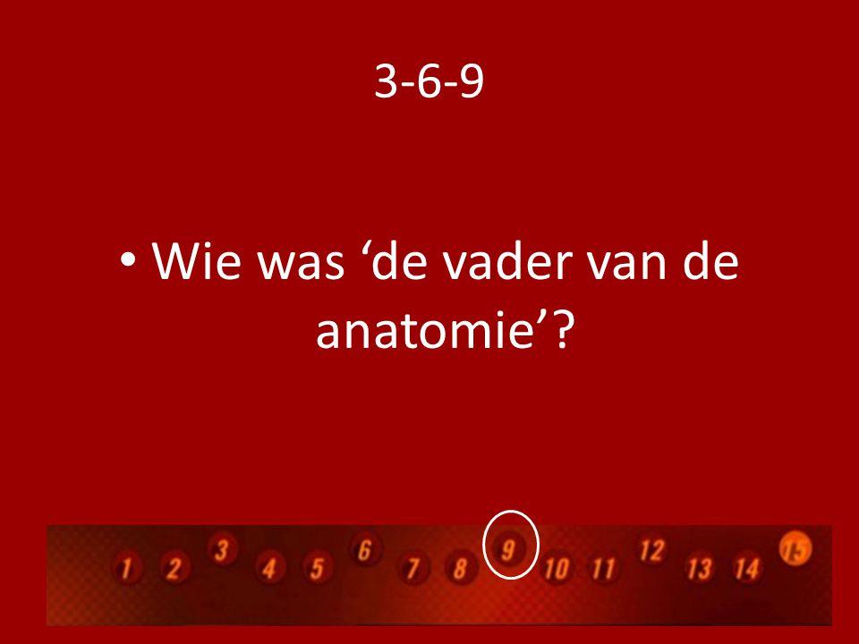 Wie was 'de vader van de anatomie'