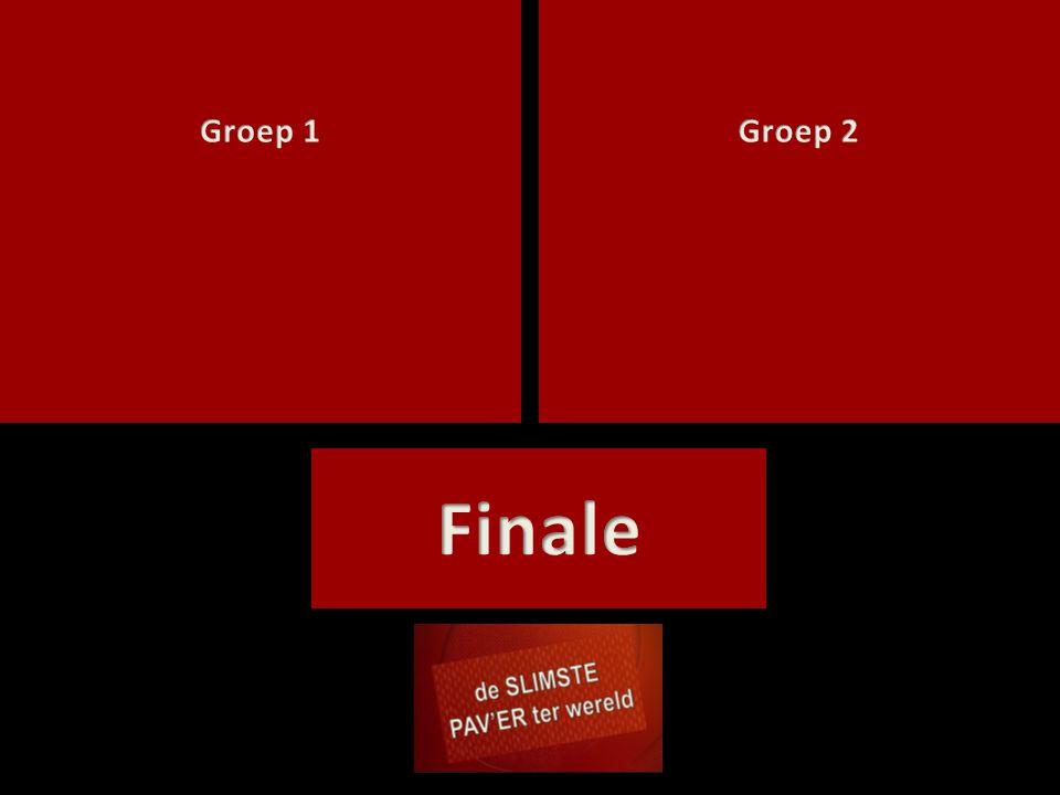 Groep 1 Groep 2 Finale