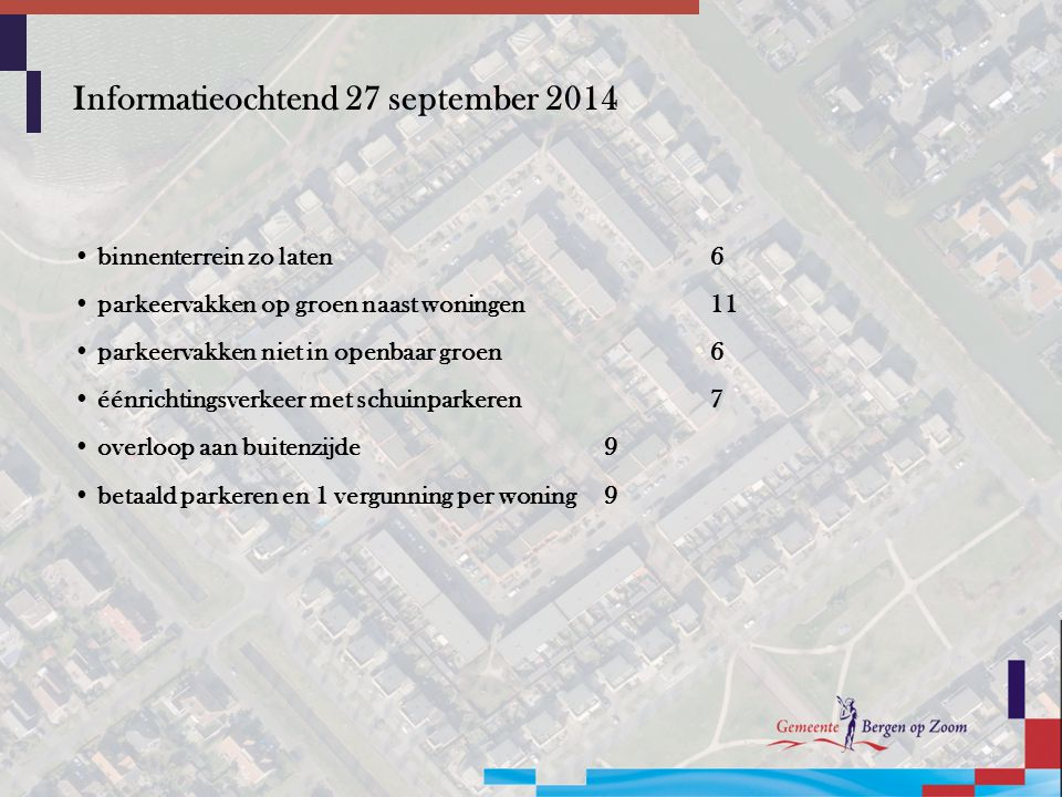 Informatieochtend 27 september 2014