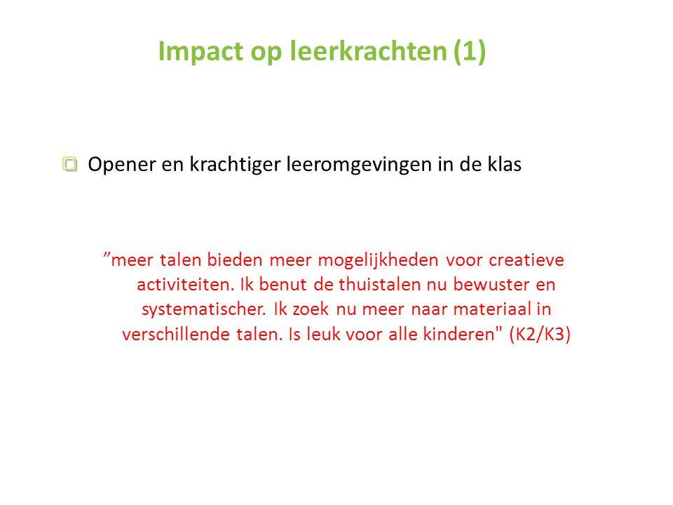 Impact op leerkrachten (1)