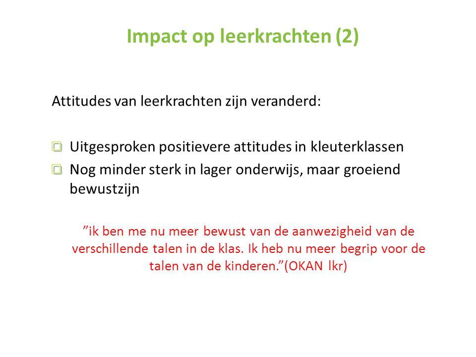 Impact op leerkrachten (2)