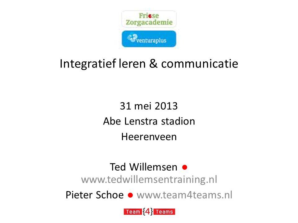 Integratief leren & communicatie