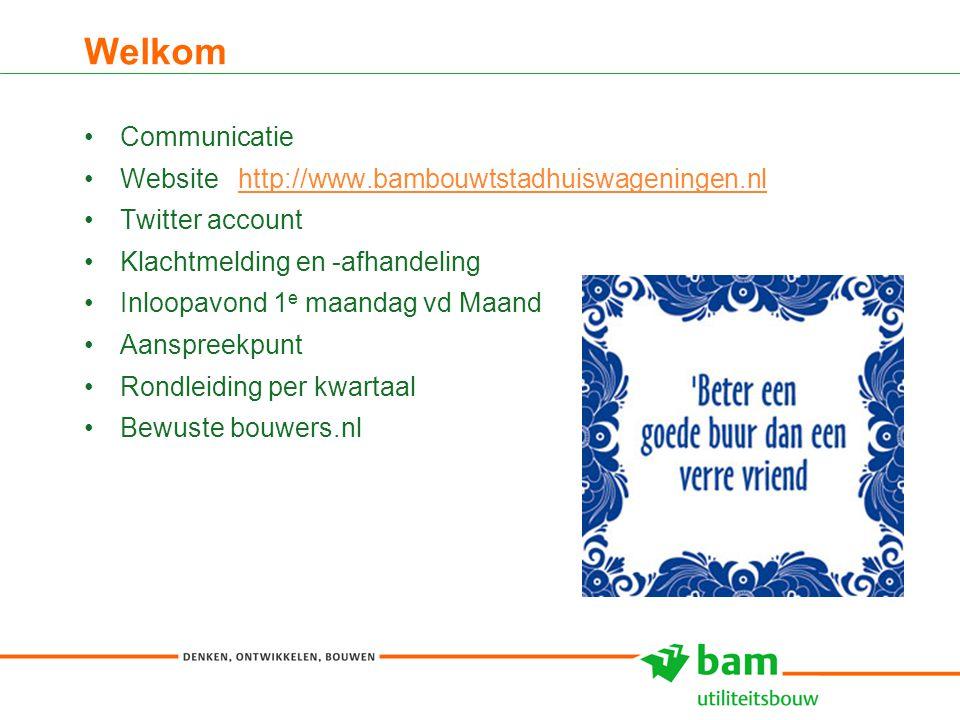 Welkom Communicatie Website http://www.bambouwtstadhuiswageningen.nl