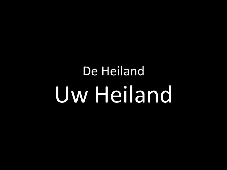 De Heiland Uw Heiland