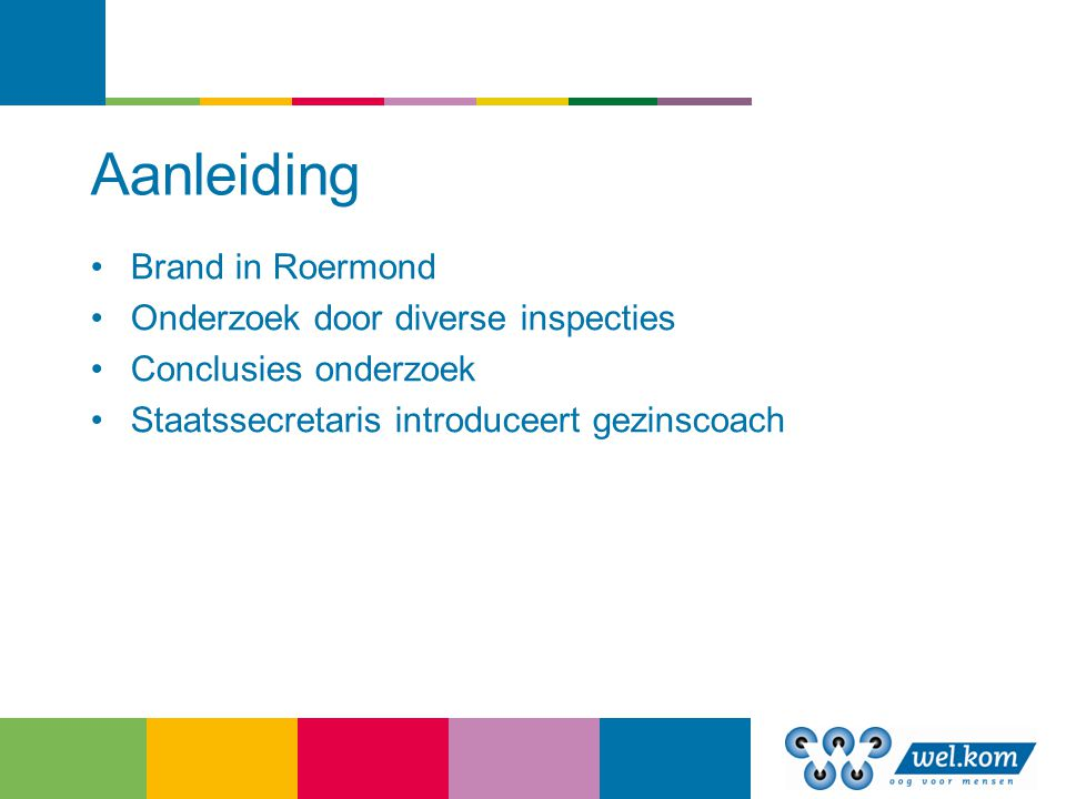 Aanleiding Brand in Roermond Onderzoek door diverse inspecties