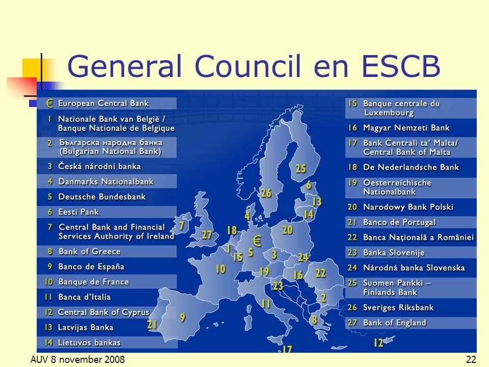 General Council en ESCB