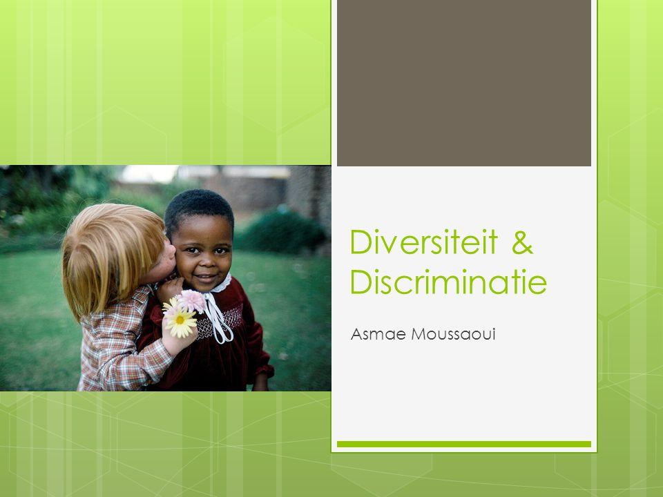 Diversiteit & Discriminatie