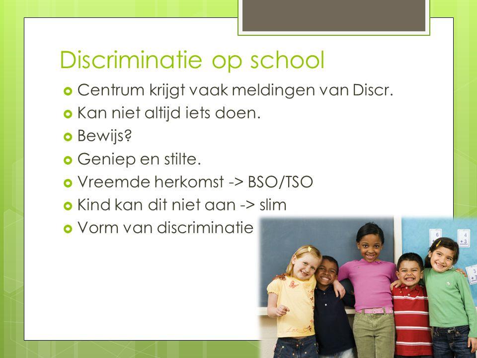 Discriminatie op school