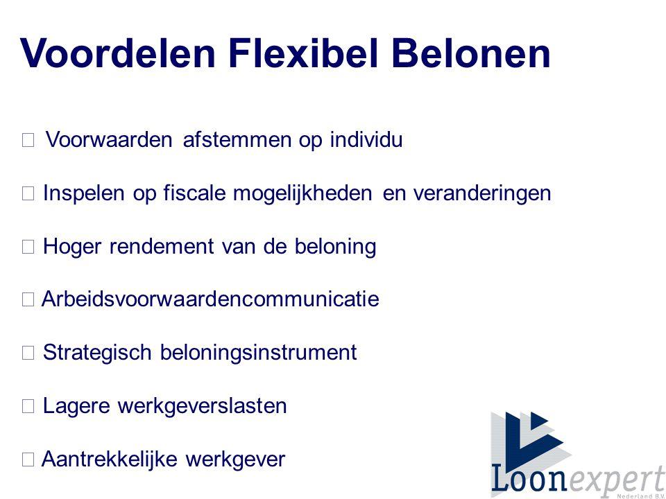 Voordelen Flexibel Belonen