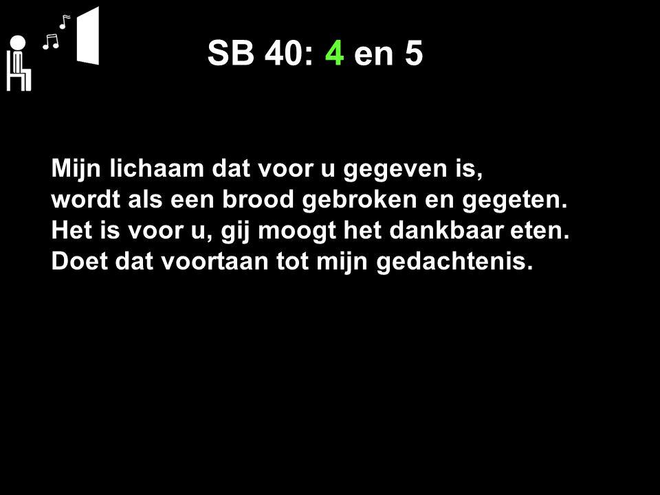 SB 40: 4 en 5
