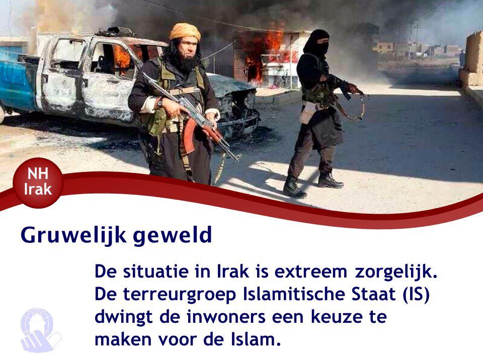 NH Irak Gruwelijk geweld.