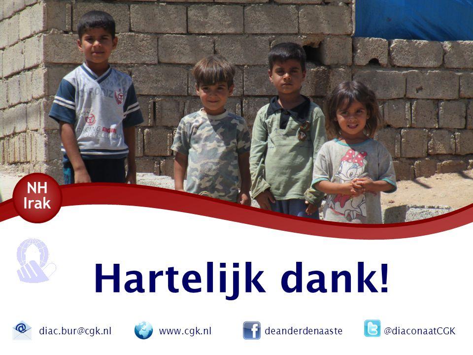 NH Irak Hartelijk dank.