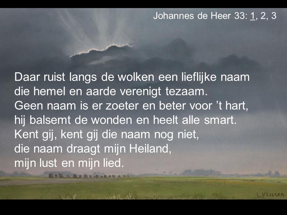 Johannes de Heer 33: 1, 2, 3