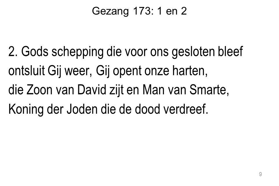 Gezang 173: 1 en 2