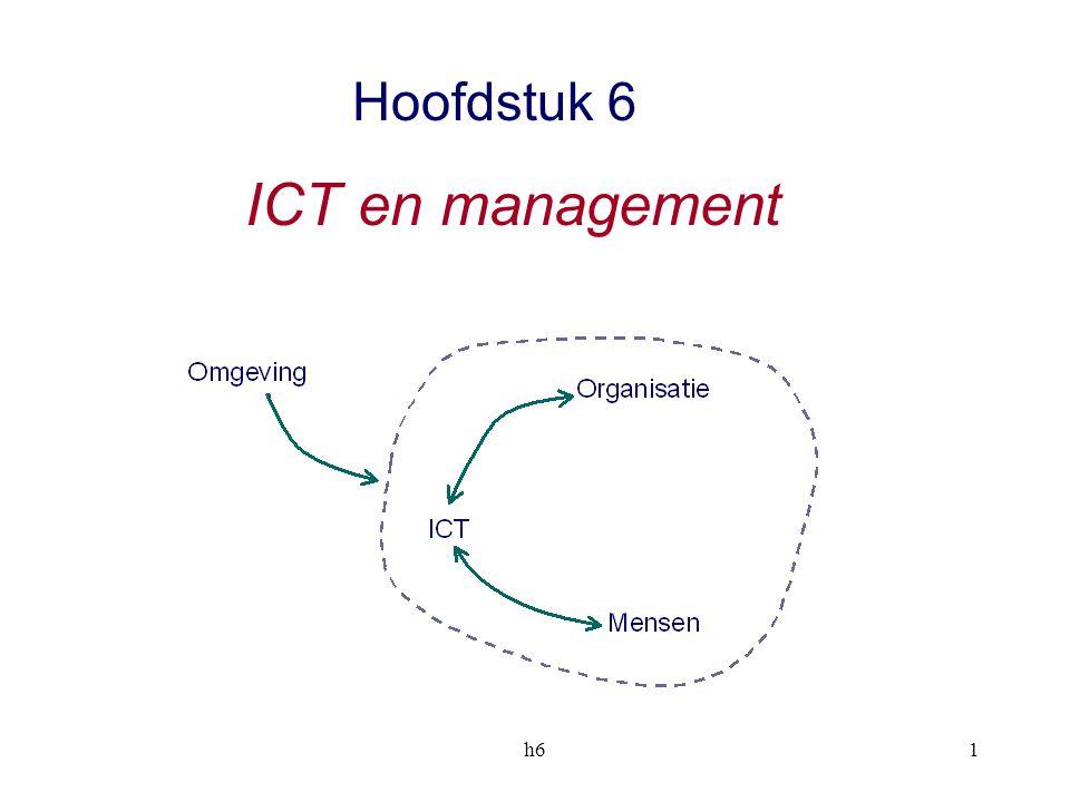Hoofdstuk 6 ICT en management h6