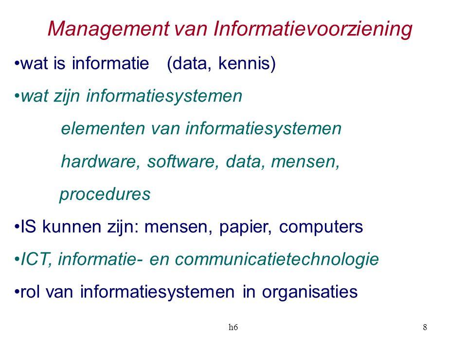 Management van Informatievoorziening