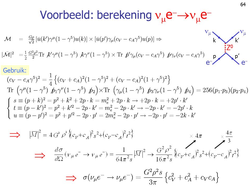 Voorbeeld: berekening ee