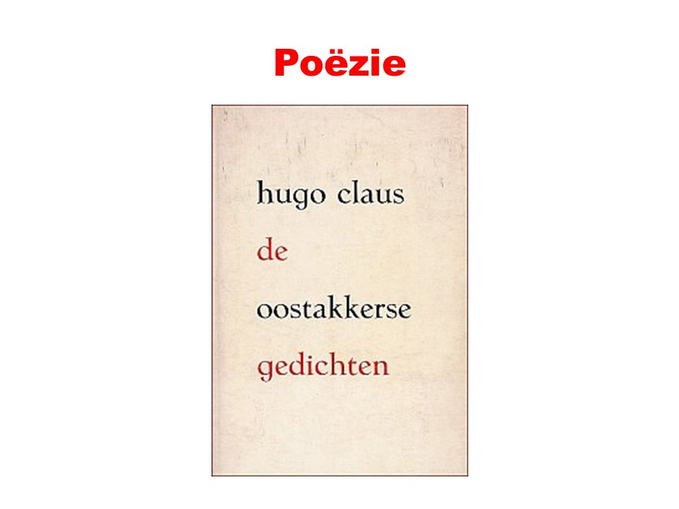 Poëzie