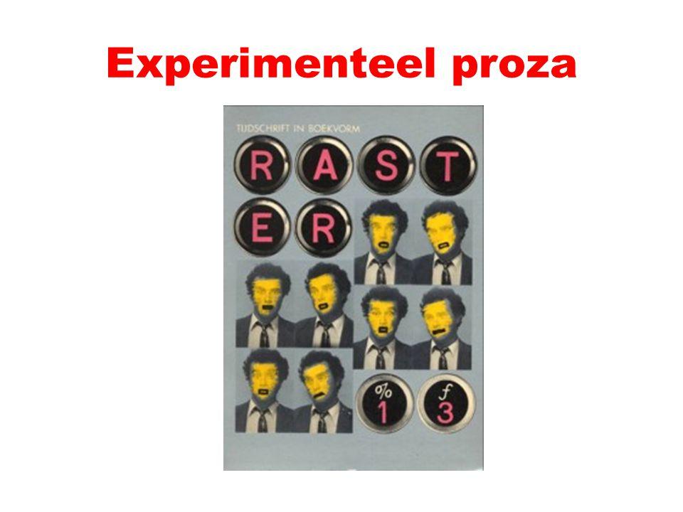 Experimenteel proza