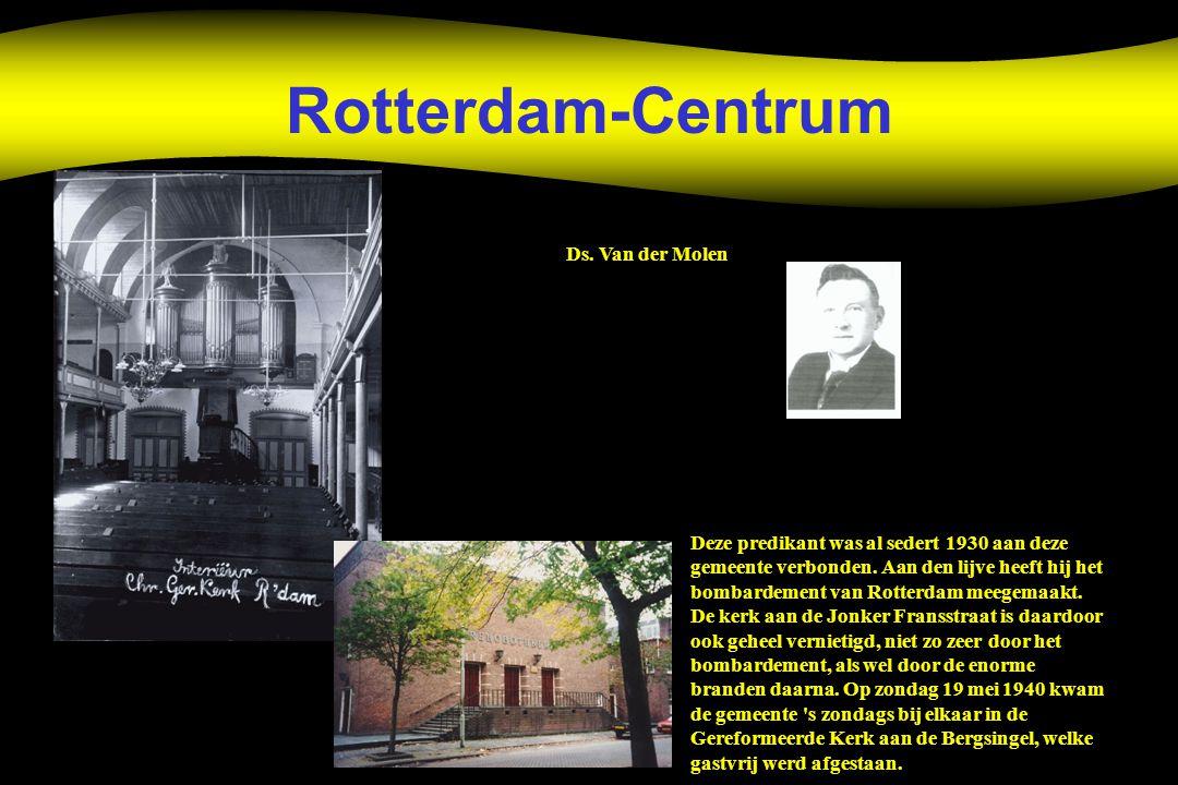 Rotterdam-Centrum Ds. Van der Molen