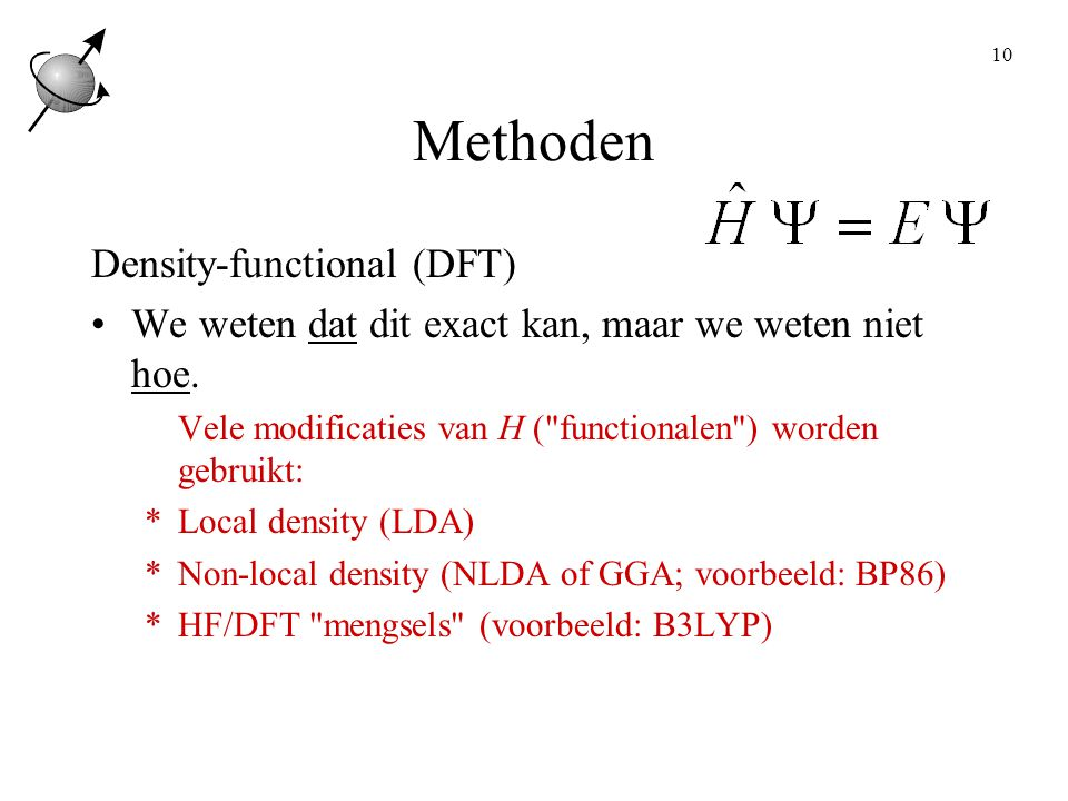 Methoden Density-functional (DFT)