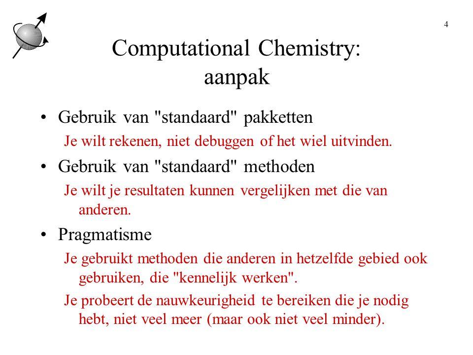 Computational Chemistry: aanpak