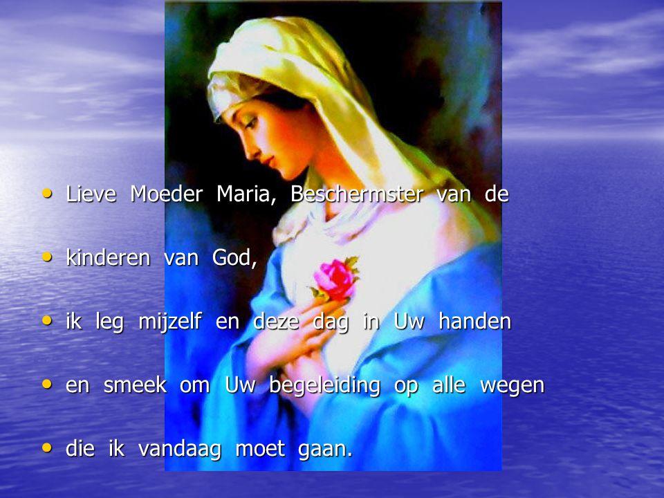 Lieve Moeder Maria, Beschermster van de