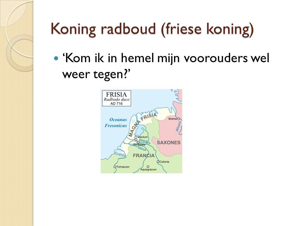 Koning radboud (friese koning)