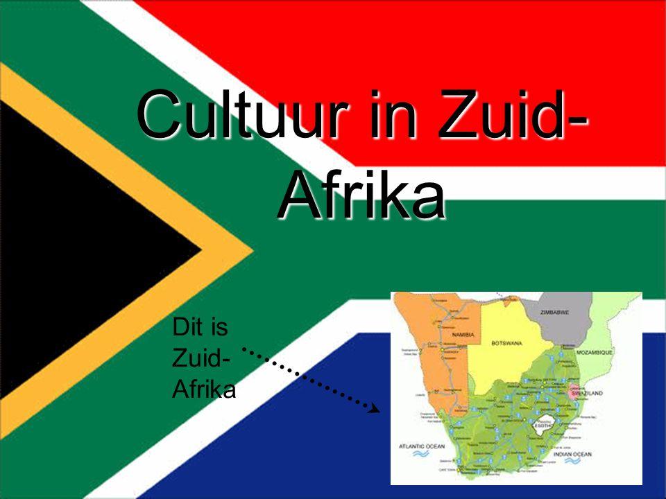 Cultuur in Zuid- Afrika