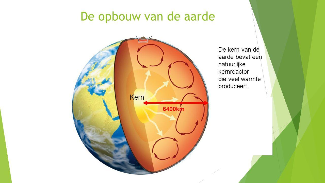 De opbouw van de aarde Kern De kern van de aarde bevat een natuurlijke