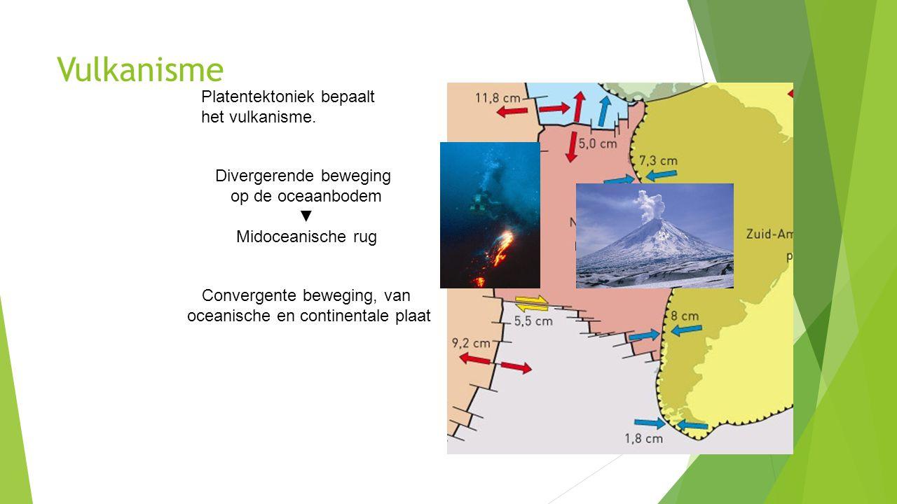 Vulkanisme Platentektoniek bepaalt het vulkanisme.