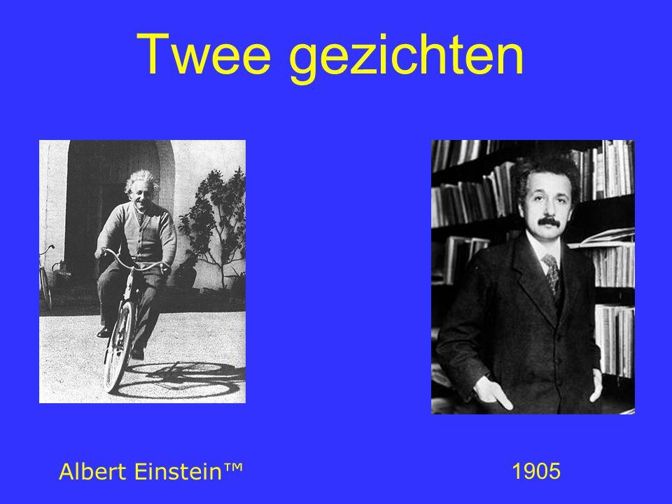 Twee gezichten 1905 Albert Einstein™ Er zijn 2 gezichten van Einstein