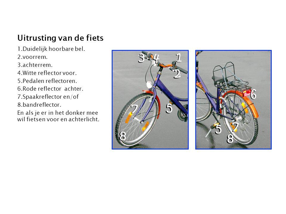 Uitrusting van de fiets