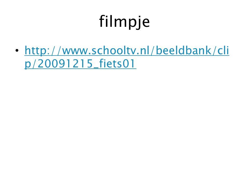 filmpje http://www.schooltv.nl/beeldbank/clip/20091215_fiets01
