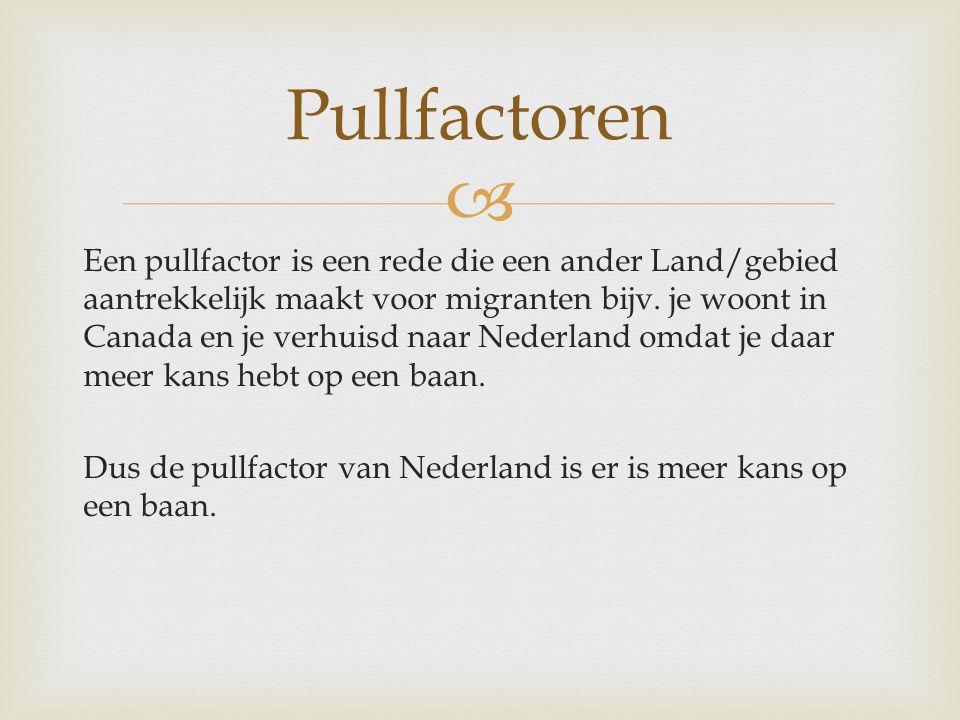Pullfactoren