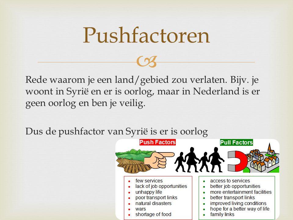 Pushfactoren